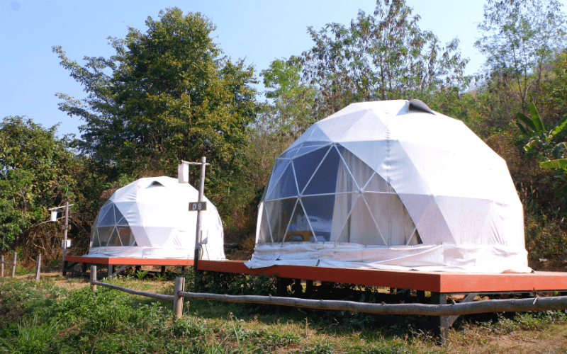 Geodesic Camping Tent