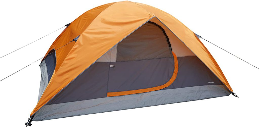 AmazonBasics waterproof camping tent for 2 person