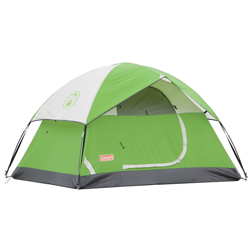 Coleman Sundome waterproof camping tent for 2 person