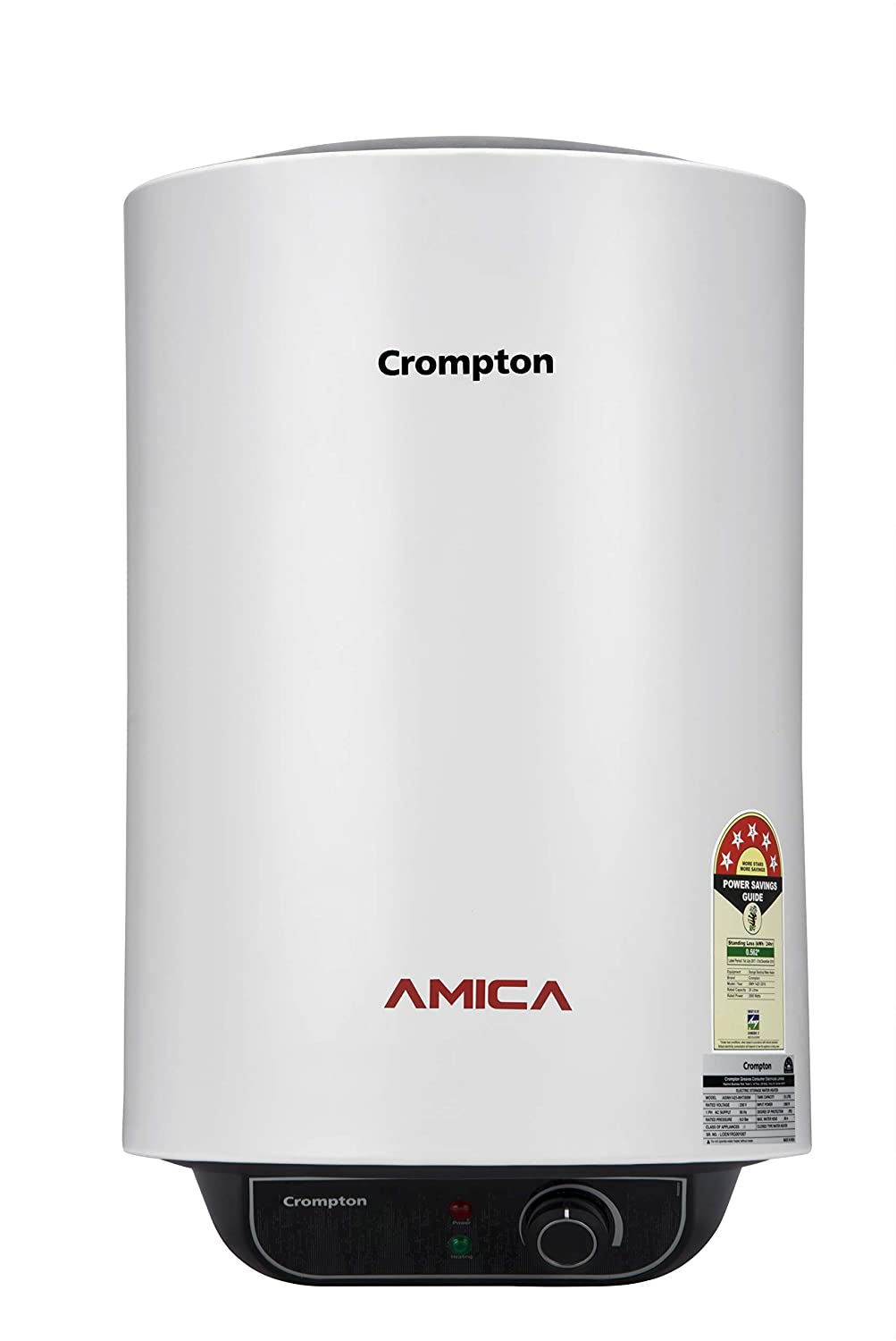 Crompton Amica ASWH<br>15 Litre Storage Water Heater