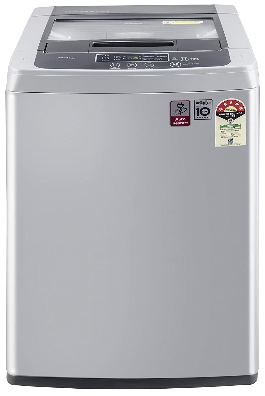 LG 6.5 Kg Fully Automatic <br>Top Load Washing Machine