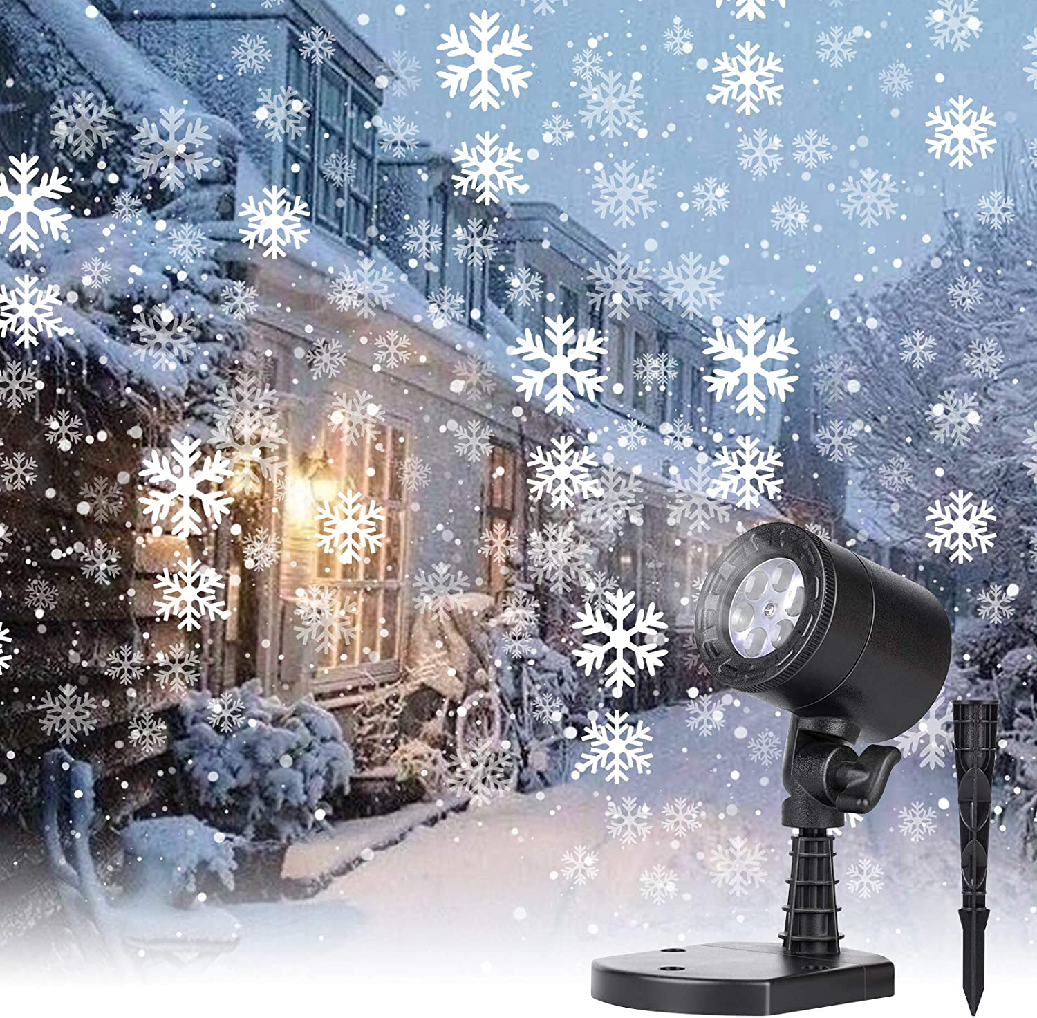 Brightown Christmas Snowflake Projector