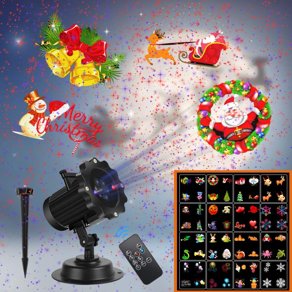 UNIFUN 16 Patterns LED <br>Christmas Light Projector