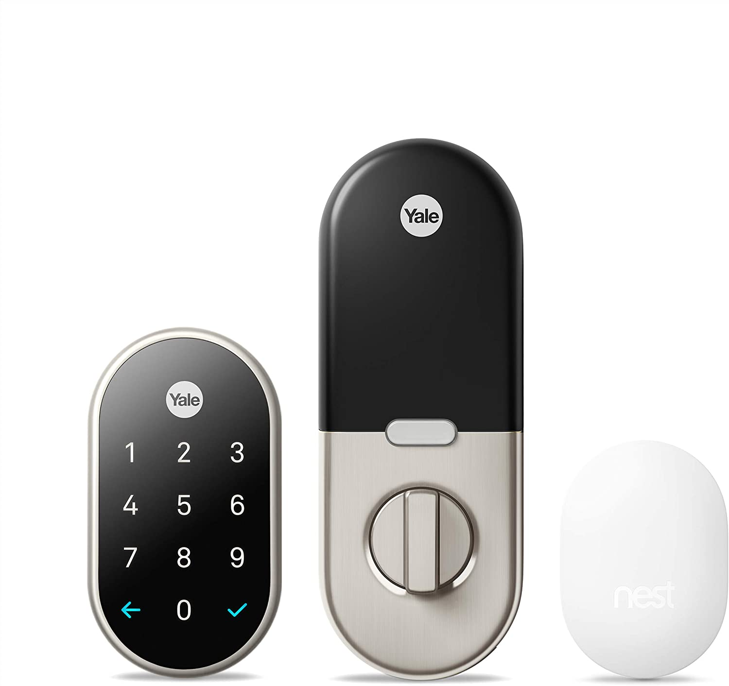 Google Nest x Yale Lock with <br>Nest Connect