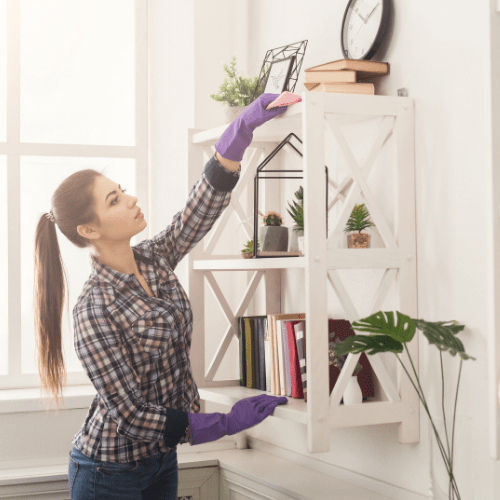 Steps To Clean Your Living Room to maintain a healthy home environment