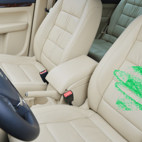 Remove Crayon Stains From Car Seats
