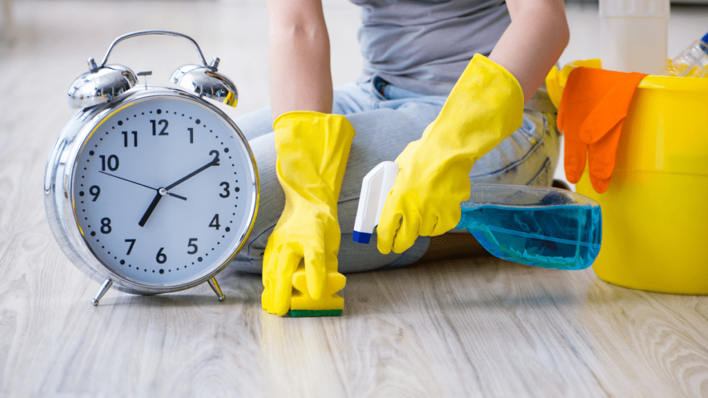 How To Keep Your House Sparkling Clean While Working Full-Time