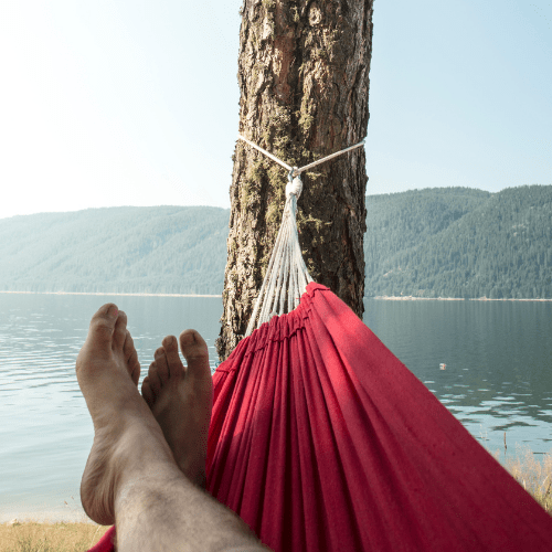 Keep Distance From Lake or Water Bodies While Summer Hammock Camping