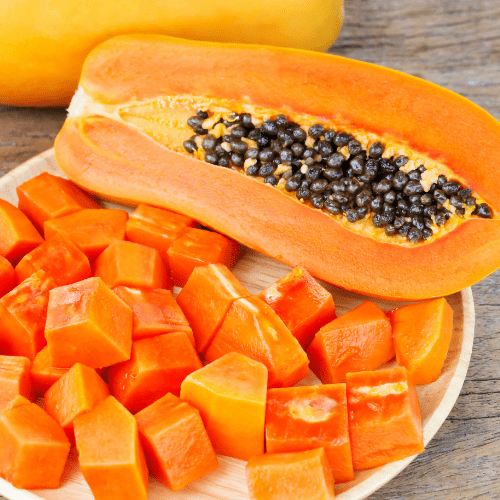 What are some of the best ways to feed papaya to dogs?