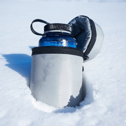 Insulated Water Bottle To Keep Yourself Warm While Hammock Camping In Winter