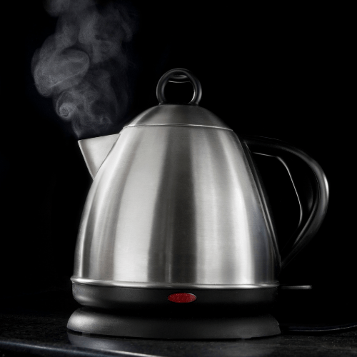 Use steamer/water boiler/electric kettle to add humidity to your room