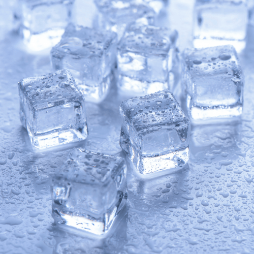 Use A Mix of Large and Small Blocks Of Ice
